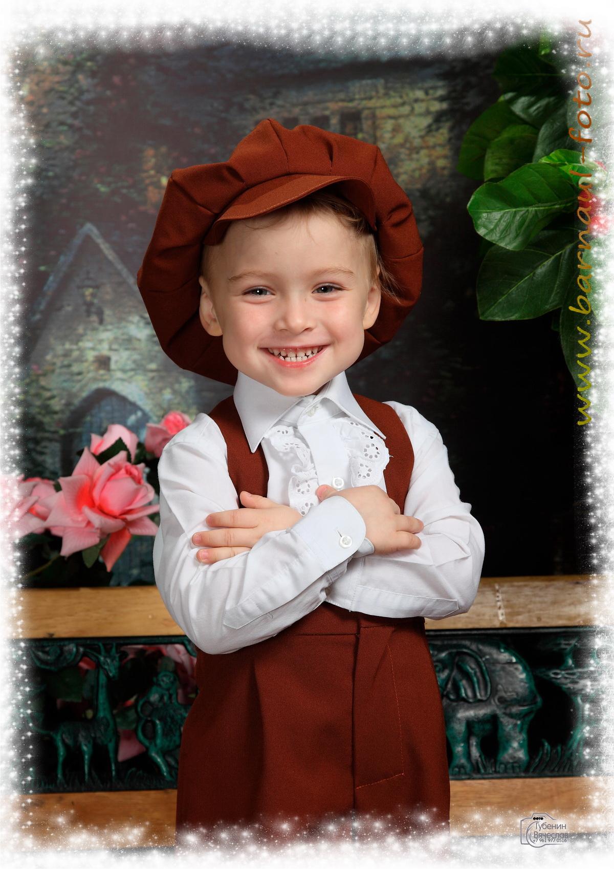 Красивые постановочные фото детей